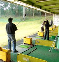 江原ゴルフセンター・レッスン中の様子
